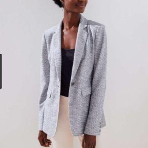 NWT - Loft Textured Knit Blazer